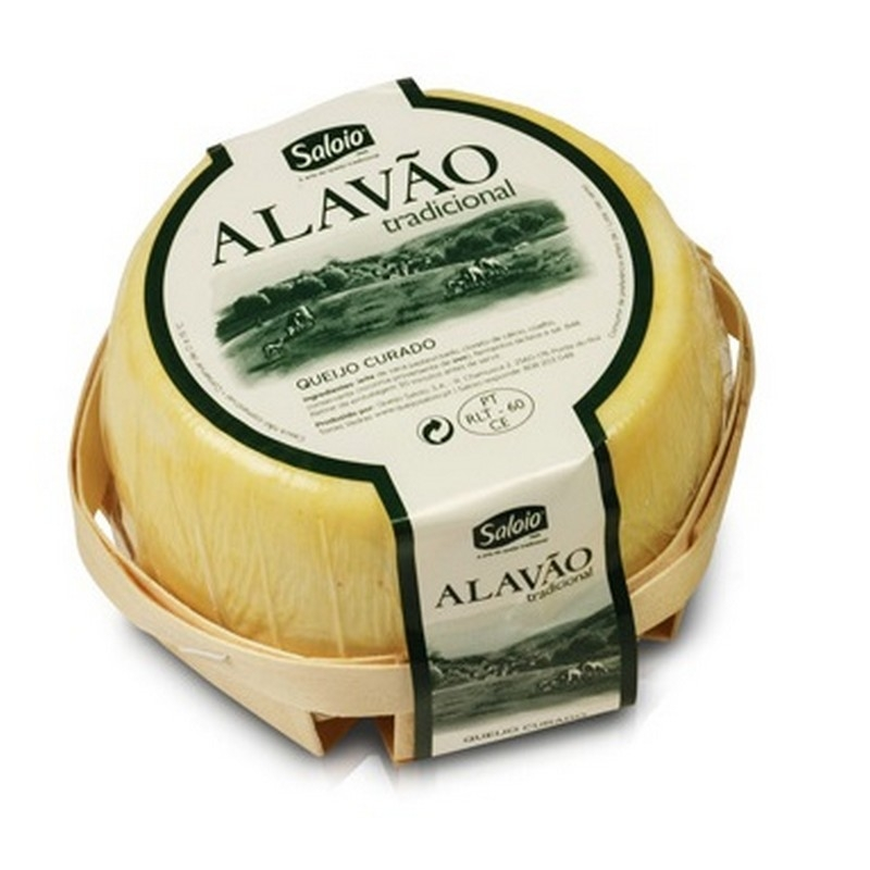 Alavão Traditional - Cured Cow Cheese