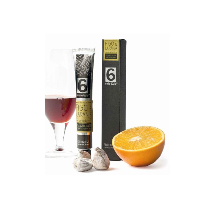 Fig and orange extra jam with port wine