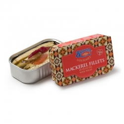 Mackerel Fillets in Olive Oil with Spices