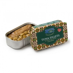 Tuna Fillets in Olive Oil with Chickpea