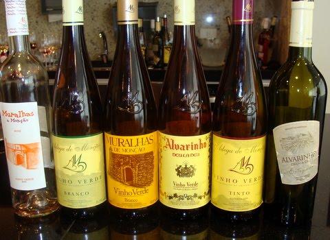 Vinho alvarinho monção